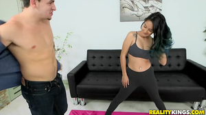 Alt-girl beckoned fellows with taut body and was fucked