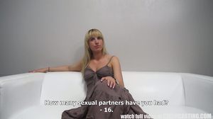 MILF with over 15 partners gets fucked by a casting agent