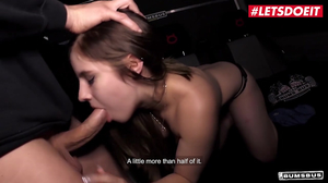 Sexy singer gets drilled hard in the studio by big cock