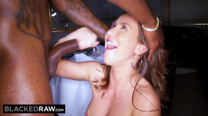 Sexy Paige Owens takes three huge cocks solo