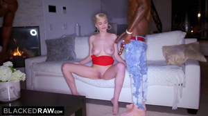 Skye Blue enjoys double penetration from two BBC