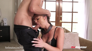 Jessi Summers creampied by Bruce's thick cock