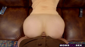 Naughty stepmom shares cock with her daughter