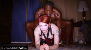 Bree Daniels enjoys a thick black dick while her husband watches on facetime